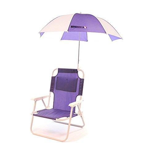 Redmon Outdoor Baby Kids Beach Chair with Umbrella