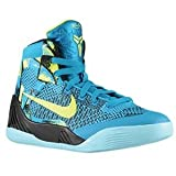 Nike Kid's Kobe IX Elite GS, NEO TURQ/VOLT-MIDNIGHT NAVY, Youth Size 7