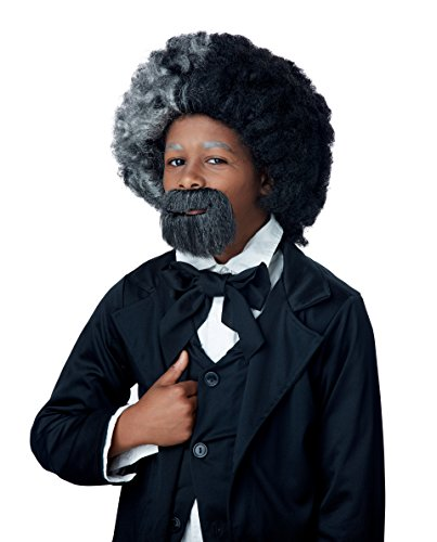California Costumes Child's Frederick Douglas Wig and Goatee