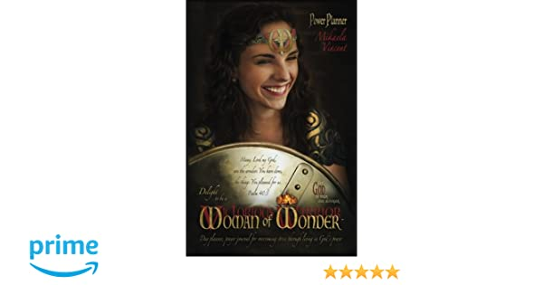 Delight to be a Woman of Wonder Power Planner (lined) (MV ...