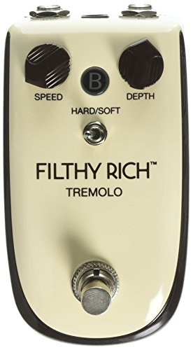 Danelectro Billionaire BT-1 Filthy Rich Tremolo Effect Pedal - Kahler Tremolo