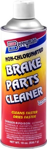 Berryman 2421C-12PK Non-Chlorinated Brake Part Cleaner - 19 oz., (Pack of 12)
