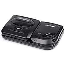 Sega CD model 2 with Sega Genesis