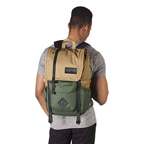 JanSport Hatchet Backpack - Field Tan/Muted Green
