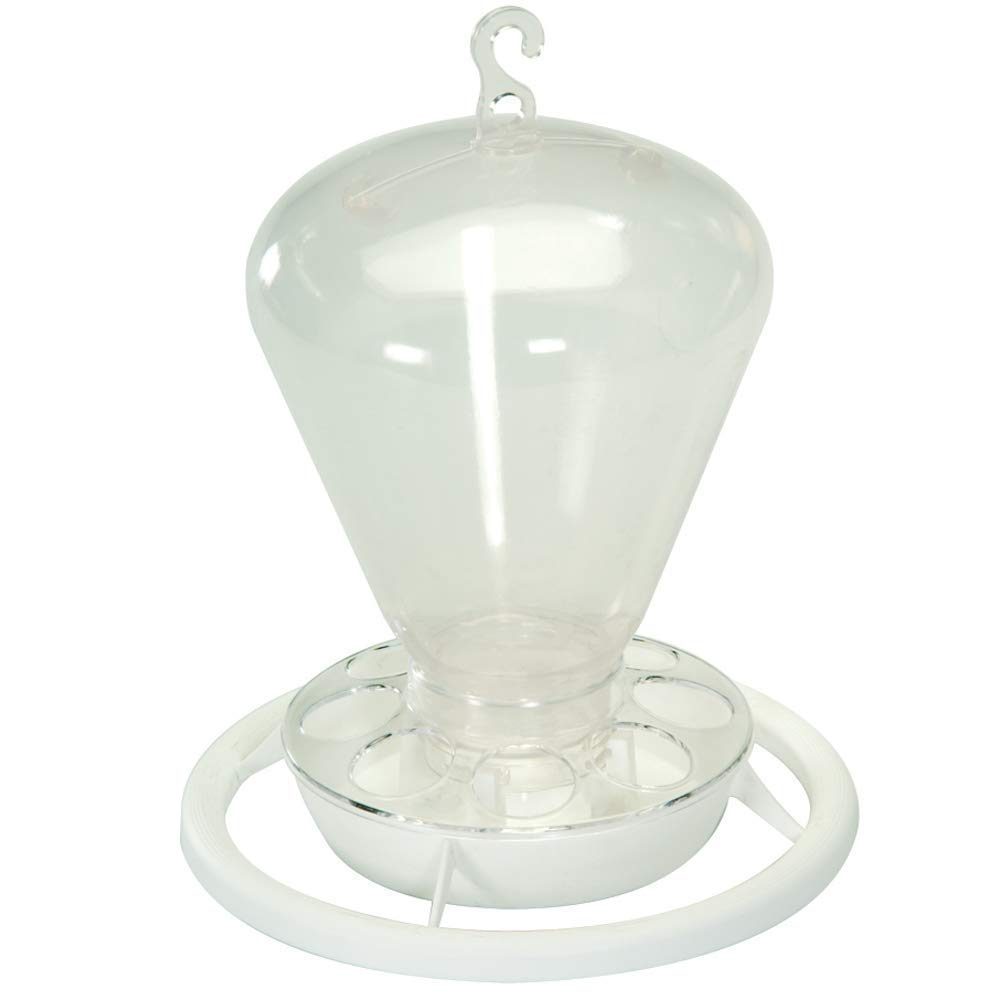 Pet Ting Clear Aviary Bird Water/Feeder Dispenser, 1000ml - 1 Liter - Strong by Pet Ting