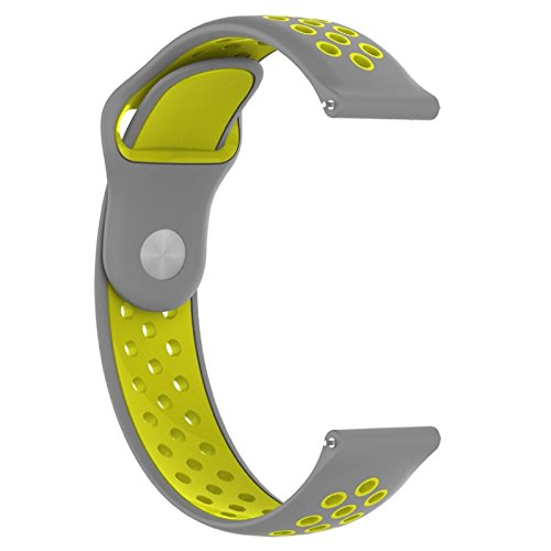 Price comparison product image Owill Silicone Fashion Ventilate Strap Wristband Replacemen For Huami Amazfit,  Great for Sports Climbing (Multicolour F)