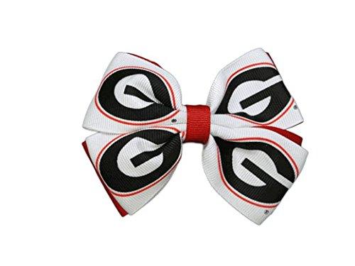 USA Bows University of Georgia Pinwheel Hair Bow