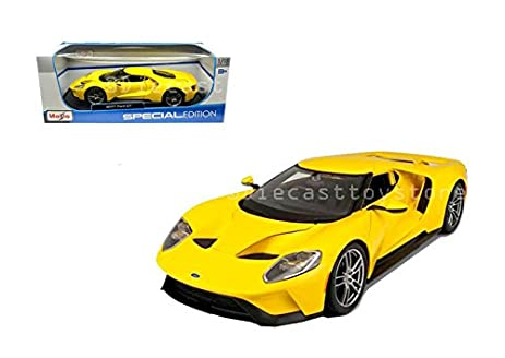 Amazon.com: MAISTO 1:18 SPECIAL EDITION - 2017 FORD GT: Toys & Games