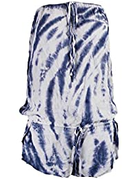 Women's Fireworks Tie-Dye Cover-Up Romper