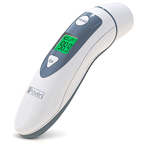 Medical Ear Thermometer Forehead Function