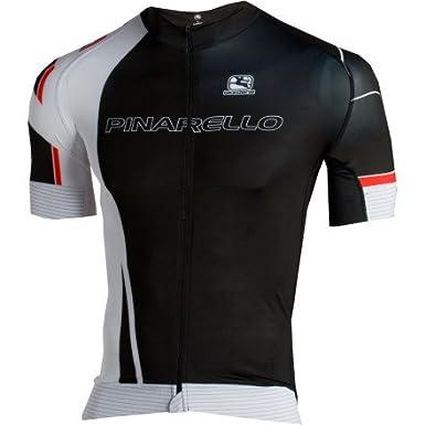Amazon.com   Giordana Mens Pinarello Pro Trade Short Sleeve Cycling Jersey  - gi-s2-ssfr-pina (Black White Red - M)   Sports   Outdoors 73de8637c