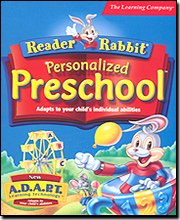 Reader Rabbit Personalized Preschool (2 CD Set) by The Learning Company