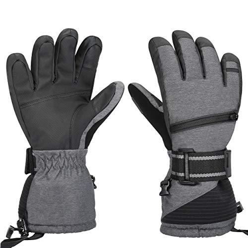 Waterproof Ski Gloves, Winter Wa...