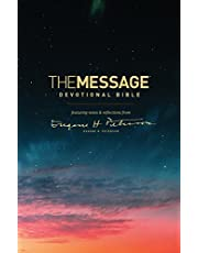 The Message Devotional Bible (Softcover): Featuring Notes and Reflections from Eugene H. Peterson