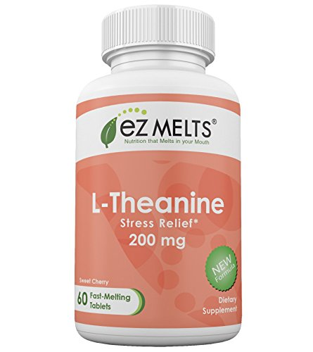 EZ Melts L Theanine Chewable Supplement
