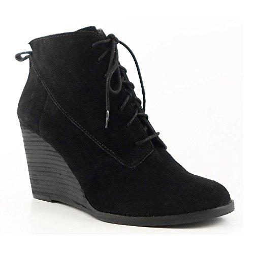Lucky Womens Black Yoanna Lucky Boots Brand Brand SHpwyqP5