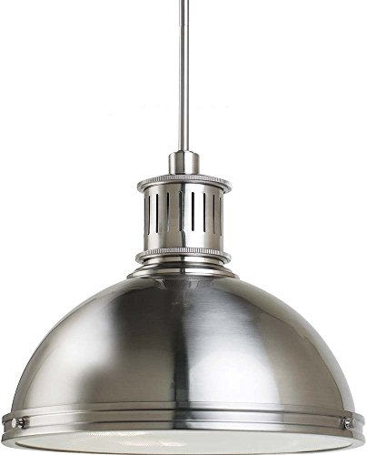 Large Circular Pendant Light - 6