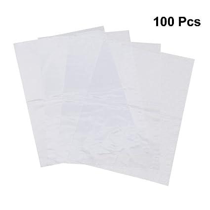 OUNONA 100 unids PVC retráctil Bolsas de plástico ...