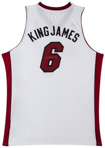 new style 1c116 afce1 LEBRON JAMES Hand Signed
