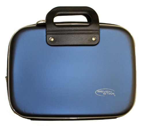 iPad Case or Netbook Briefcase - Blue