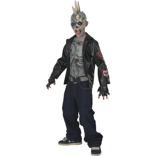Kids Zombie Halloween (Punk Zombie Kids Costume)