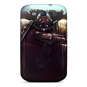 Fashionable Style Case Cover Skin For Galaxy S3- Space Marines