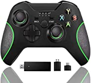 Wireless Controller for Xbox one, Built-in Dual Vibration 2.4HZ Gamepad Compatible with Xbox One/One S/One X/O