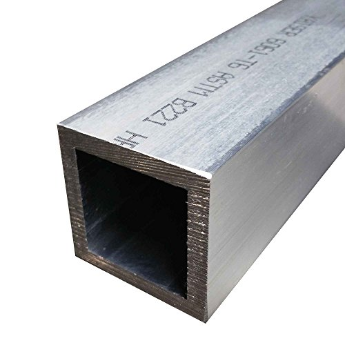 Online Metal Supply 6061-T6 Aluminum Square Tube 2