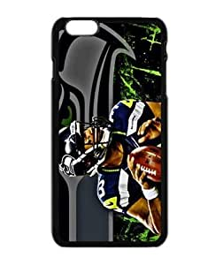 Xusuzhi NFL Seattle Seahawks Waterproof Dustproof Shock-Absorbing Custom Phone Case Cover For Apple Iphone 6 (4.7 inch)