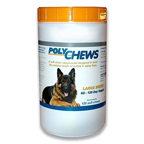 PolyChews for Large Dogs, 120 Soft Chews
