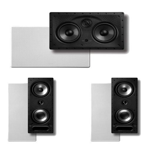 - Polk Audio 265RT 3-Way In-Wall Speakers (Pair) Plus A Polk Audio 255C-LS Center Channel In-Wall Speaker