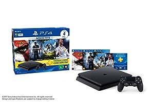Sony CUH-2014A Kit PlayStation 4 Hits com 4 Jogos, Preto