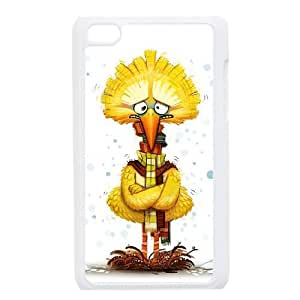 iPod 4 White Cell Phone Case HUBYLW2035 Big Bird Phone Case Personalized