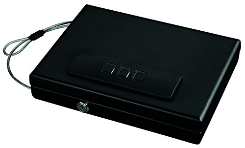 Stack-On PC-1665 Portable Locking Case with Electronic Lock (Code Gun Lock)