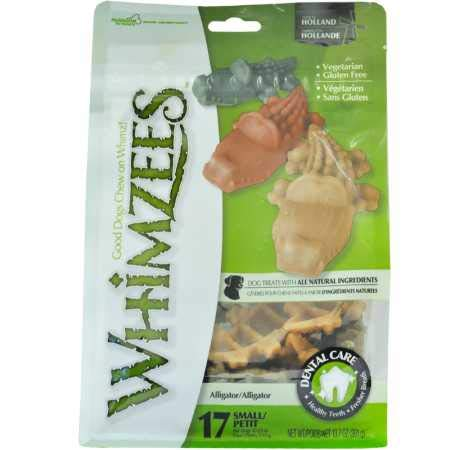 Whimzees Alligator Dental Dog Treats Small (17 Count)
