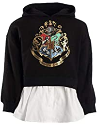 Harry Potter Girls Hoodie Harry Potter Apparel Harry Potter Girls Apparel Black
