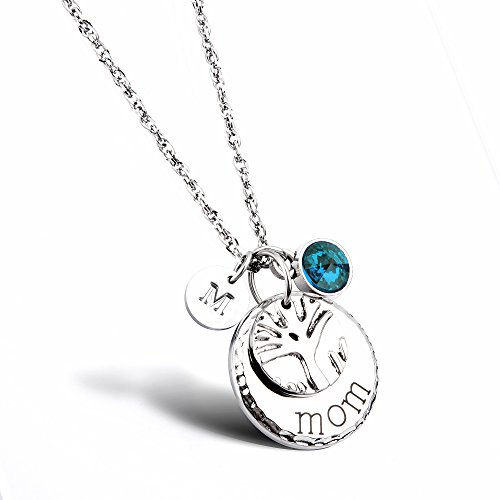 mother necklace personalized - 8