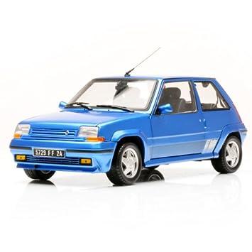 Renault - Norev - 185203 - Renault Super5 Gt Turbo 87 Bleu Me - 1:18: Amazon.es: Juguetes y juegos
