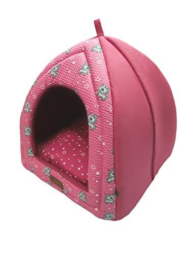 Cabana Fábrica Pet para Cães, Único, Rosa