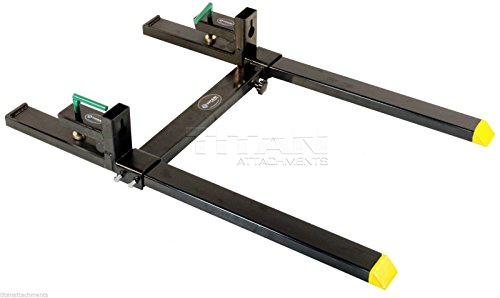 titan-clamp-on-heavy-duty-pallet-forks-and-adjustable-stabilizer-bar-for-loaders