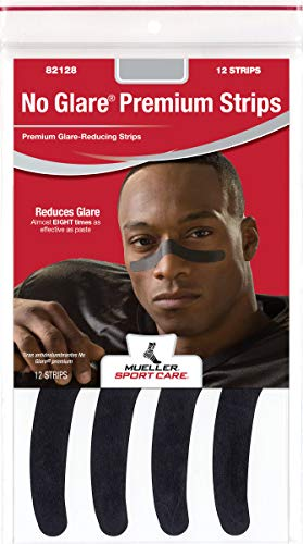 No Glare Strips - Mueller No Glare Premium Glare-Reducing Strips, 36 Strips/Package, No Logo
