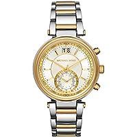 Michael Kors MK6225 Sawyer Two Tone Stainless Steel Womens Bracelet Watch