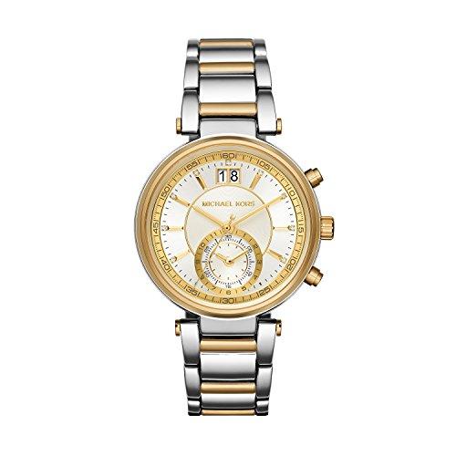 Michael Kors Women's Sawyer Two-Tone Watch MK6225