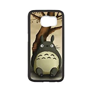 Fayruz- Personalized Protective Hard Textured Rubber Coated Case Cover for Samsung Galaxy S6 - My Neighbor Totoro -S6O1138