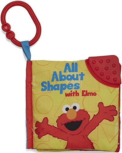 Kids Preferred Sesame Street On The Go All About Shapes with Elmo Soft Teether Book, 5 ()