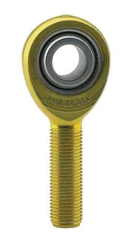 FK Bearing JML12 Precision Wear Resistant Male Rod End 0.750 x 3/4-16 Left Hand - Left Rod Hand End Male