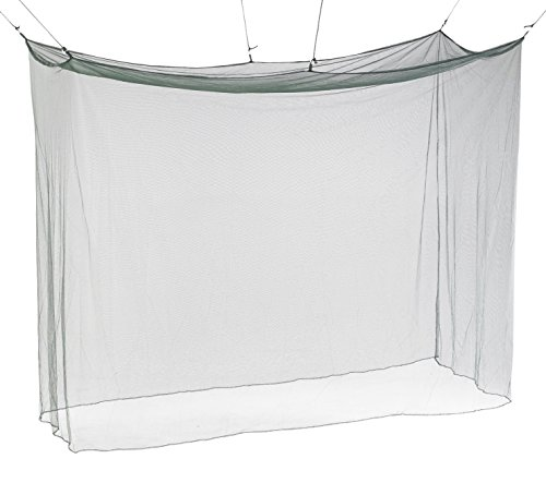Atwater Carey Mosquito Net Treated with Insect Shield Permethrin Bug Repellent, Hanging Screen Single Cot Net by Atwater Carey