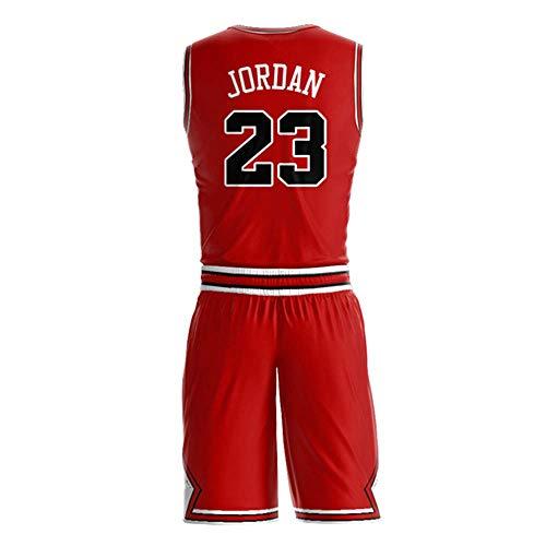 Men_Michael_Jordan_Red_Jersey_and_Shorts