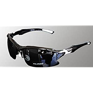 Scott ALlah Design - Black Body Protective Eyewear Cycling Sunglasses Polarized - Casual Sports Sunglasses (RoH 28796)