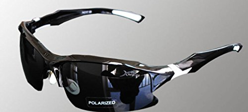 Scott ALlah Design - Black Body Protective Eyewear Cycling Sunglasses Polarized - Casual Sports Sunglasses (RoH - Proofs Sunglasses